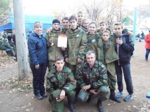 """Команда """"Вымпел - С"""" с руководителями"""
